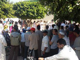 الهيئة المغربية لنصرة قضايا الأمة تنظم وقفة تضامنية مع الشعب الفلسطيني