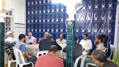 اللجنة المحلية للدفاع عن فلسطين وقضايا الأمة تعقد لقاءا تنسيقيا من أجل وقفة احتجاجية