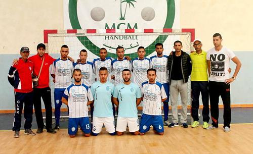 نادي لكوس القصر الكبير يحرز الرتبة الثالثة في دوري المسيرة الخضراء بمراكش