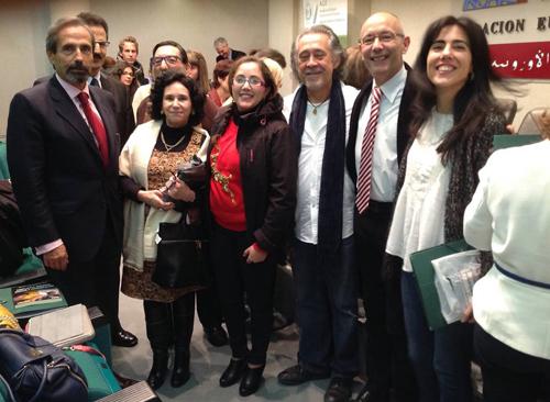 """الشاعرة و الفنانة بشرائيل الشاوي حاضرة في الملتقى الدولي """" الإسبانية كجسر للا بداع الأدبي بين إسبانيا والمغرب"""" بغرناطة"""
