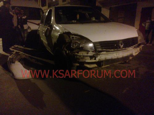 إصابة شخص بجروح في حادث سير بشارع 16