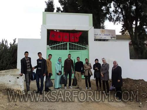جمعية شباب الصحوة تنظم زيارة لدار المسنين بالقصر الكبير