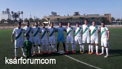عاجل : النادي القصري ينهزم بالرباط أمام اتحاد تواركة