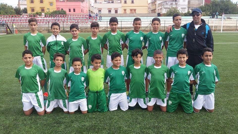 براعم النادي القصري في مواجهة المغرب التطواني