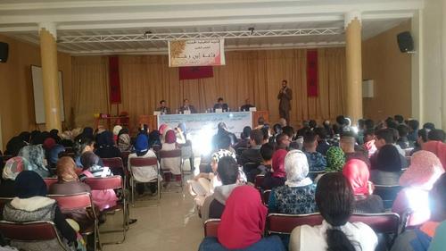 الثانوية المحمدية تحتضن ندوة دينية احتفاءا بالمولد النبوي