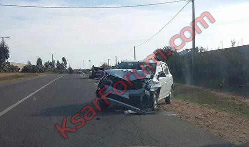 الصنادلة : إصابة شخص بجروح خطيرة في حادثة سير