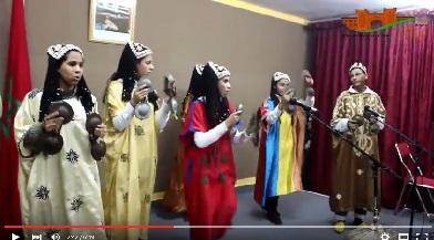 حفل بهيج بثانوية علال بن عبد الله