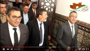 زيارة وزير السياحة لمدينة القصر الكبير