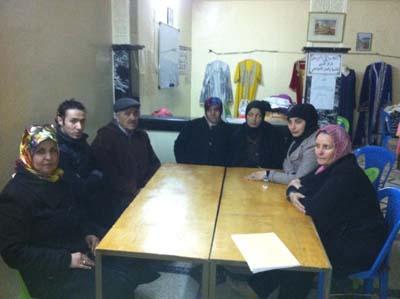 سعاد الوزاني رئيسة جديدة لجمعية المركز المغربي للتنمية والعمل الاجتماعي بالقصر الكبير.