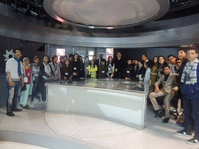 مؤسسة الهدى في زيارة للقطب العمومي 2M