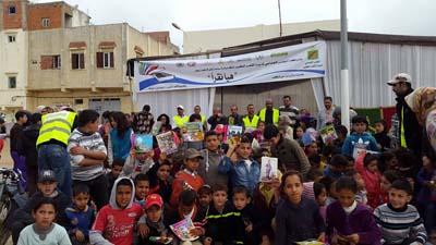 300 طفل يستفيدون من مبادرة ساعة للقراءة بحي المناكيب