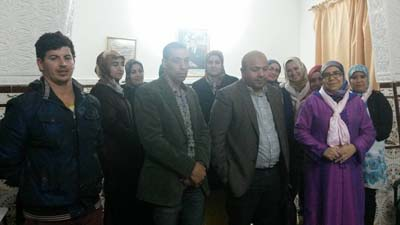 مدير وكالة إنعاش التشغيل و الكفاءات بالعرائش يؤطر ندوة تحسيسية بجمعية أمومة