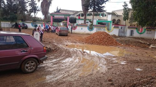 مدرسة عبد الله الشفشاوني تتعرض لمحاولات السرقة والتخريب