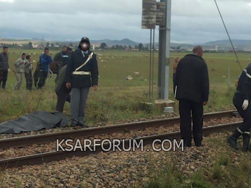 عاجل : القطار ينهي حياة شاب من أولاد اوشيح