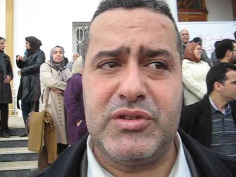 فخر الدين يتحدث عن اعتصام التنسقية الوطنية لحاملي الشواهد المقصين من الإدماج