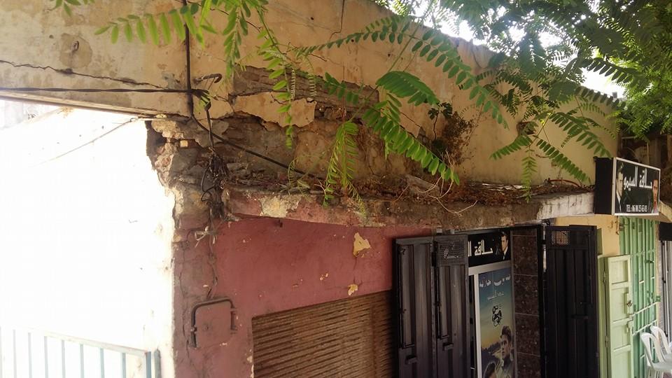 تجار قيسارية الأحباس يطالبون بإصلاح مدخل القيسارية المتهالك