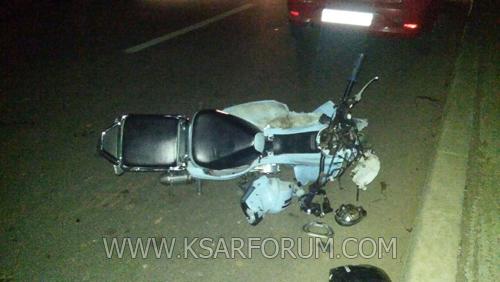 عاجل: نقل شاب في حالة خطيرة إلى طنجة بعد اصطدام دراجته بطاكسي