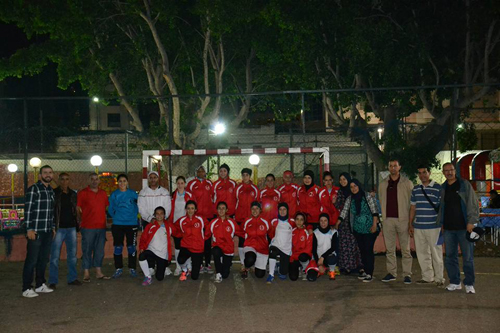 كرة اليد : إناث النادي الرياضي القصري في القسم الممتاز