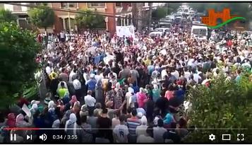 احتجاج من أجل تعزيز الأمن